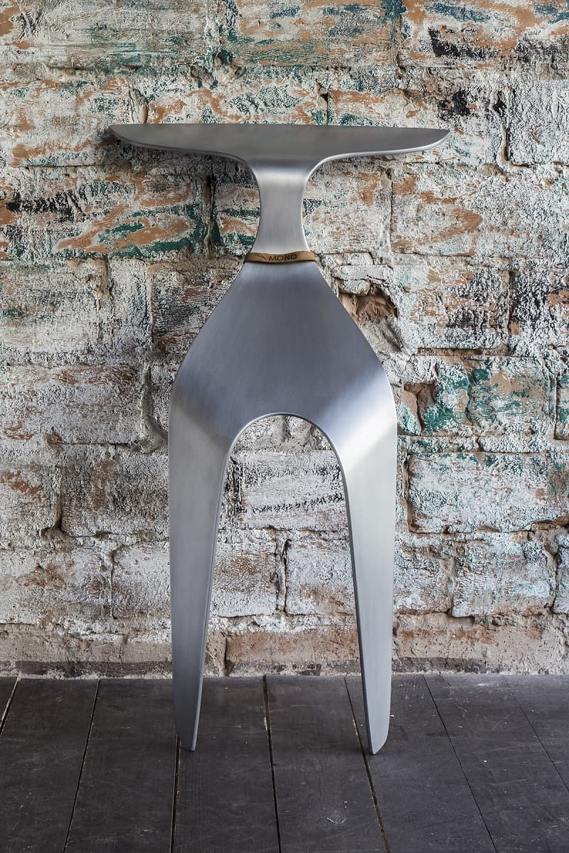 Mono - Chair Made From A Single Piece Of Bent Aluminum1