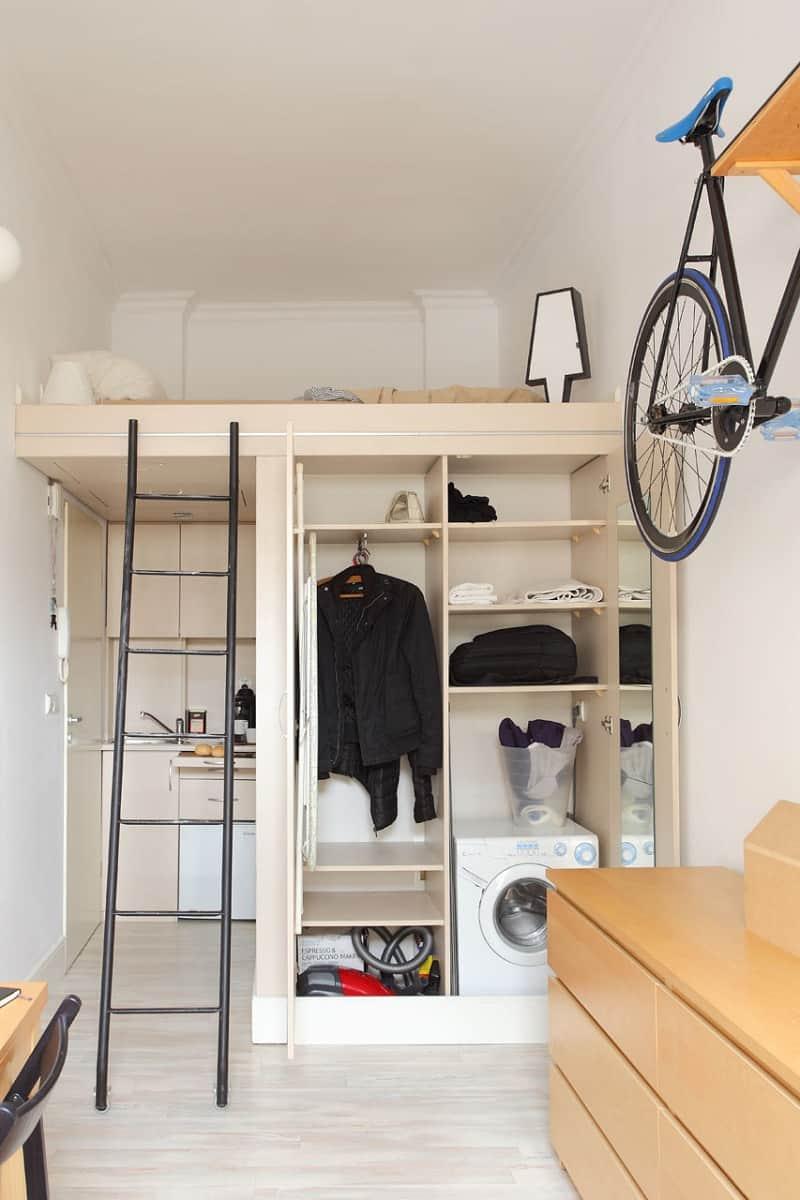 Tiny yet comfortable 140 square feet apartment3