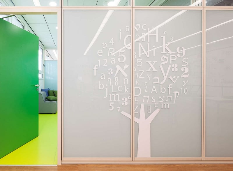 Awesome school in Israel with playful interior4