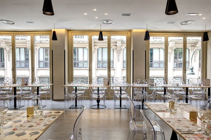 Italian restaurant with a warm retro interior9