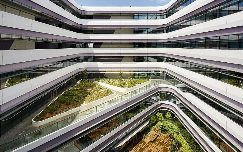 University campus in Singapore with contemporary design12