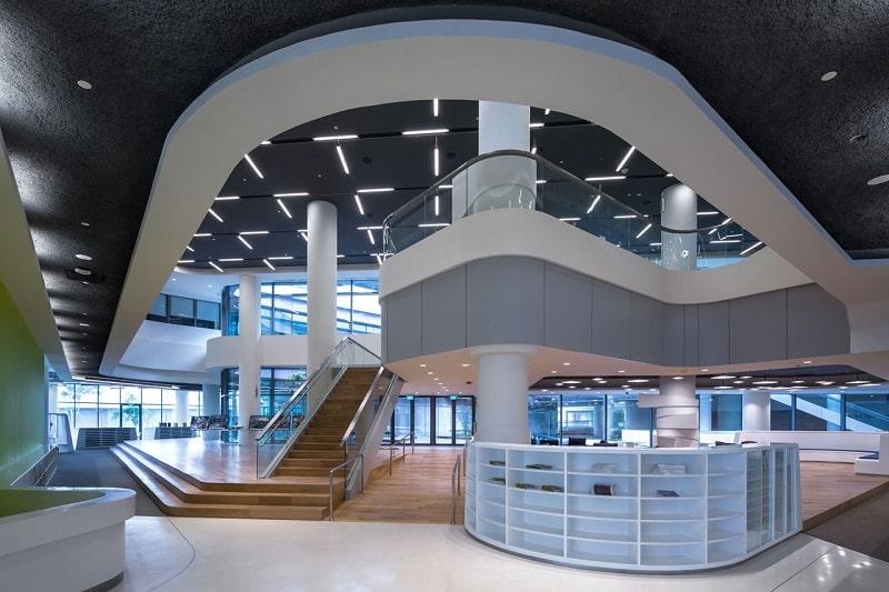University campus in Singapore with contemporary design7