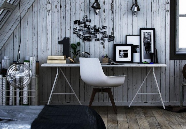 15 ideas for decorating your home workspace
