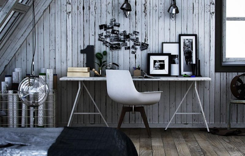 14 ideas for decorating your home workspace