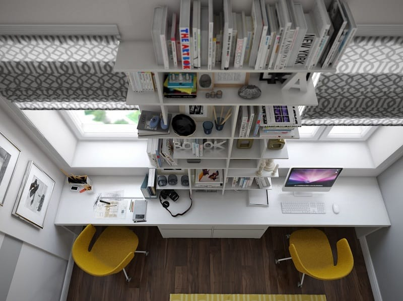 15 ideas for decorating your home workspace5