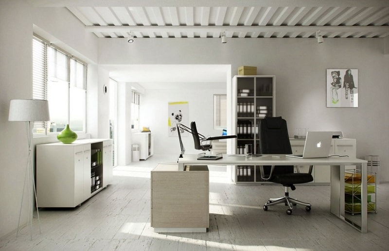 15 ideas for decorating your home workspace6