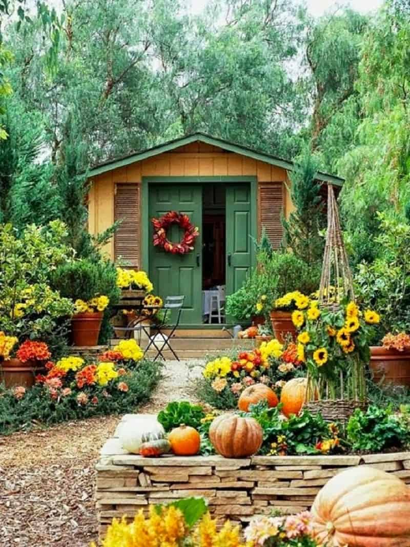 Decorate your home in the splendid colors of autumn11
