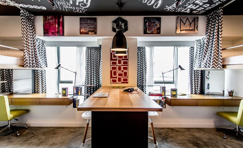 Hotel in Hong Kong transformed into an affordable student housing3
