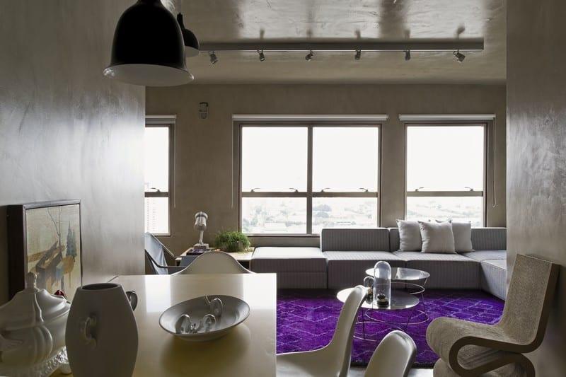Modern grey apartment in Sao Paolo1
