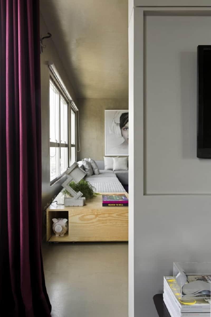 Modern grey apartment in Sao Paolo11
