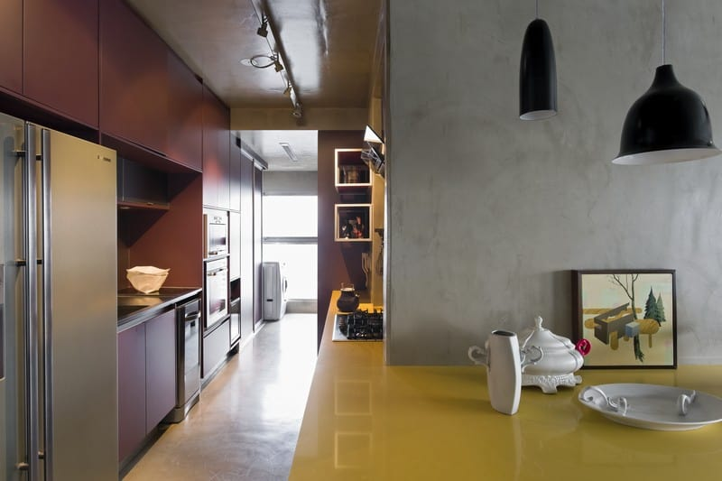 Modern grey apartment in Sao Paolo4