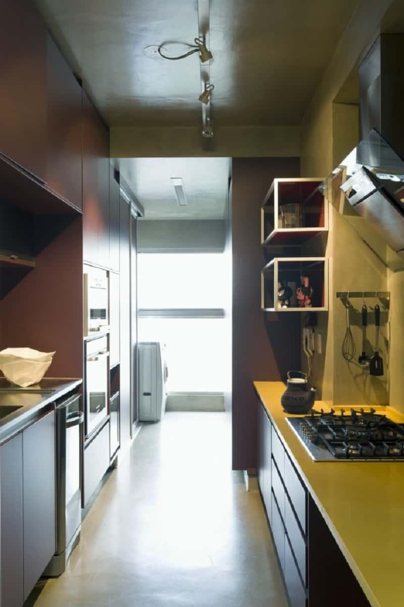 Modern grey apartment in Sao Paolo5