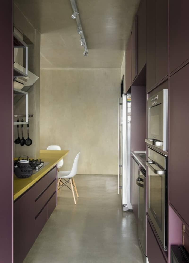 Modern grey apartment in Sao Paolo6