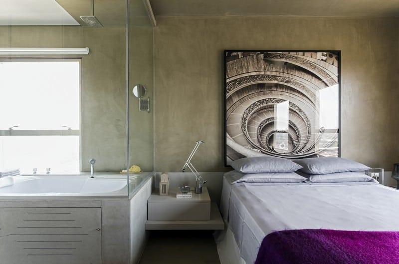 Modern grey apartment in Sao Paolo8