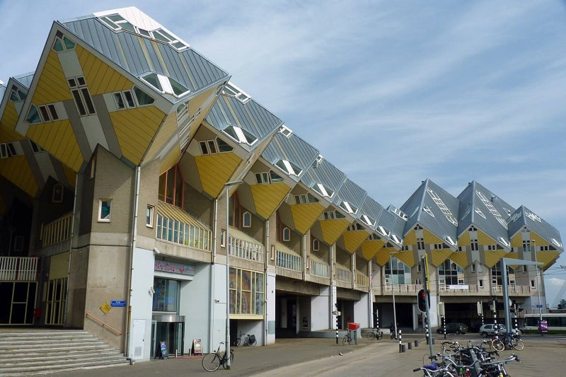 Cubic - striking architectural symbol of Rotterdam1