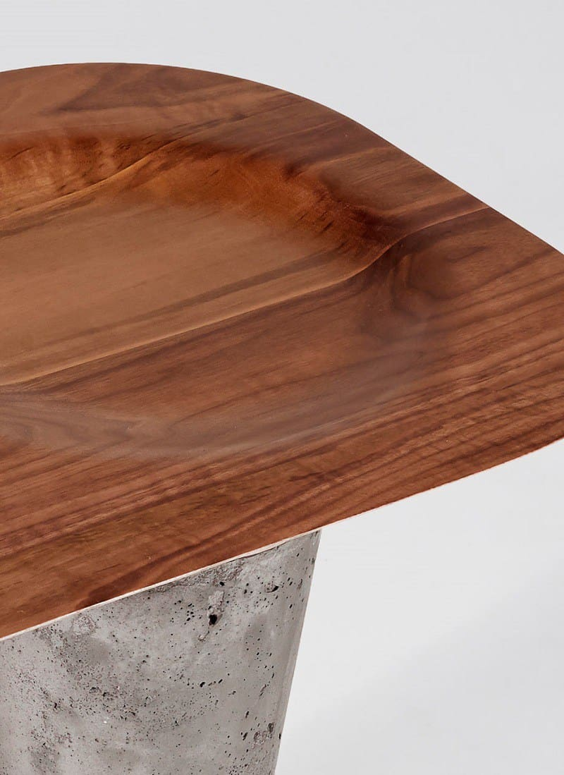 Awesome tables made of wood, concrete and copper7