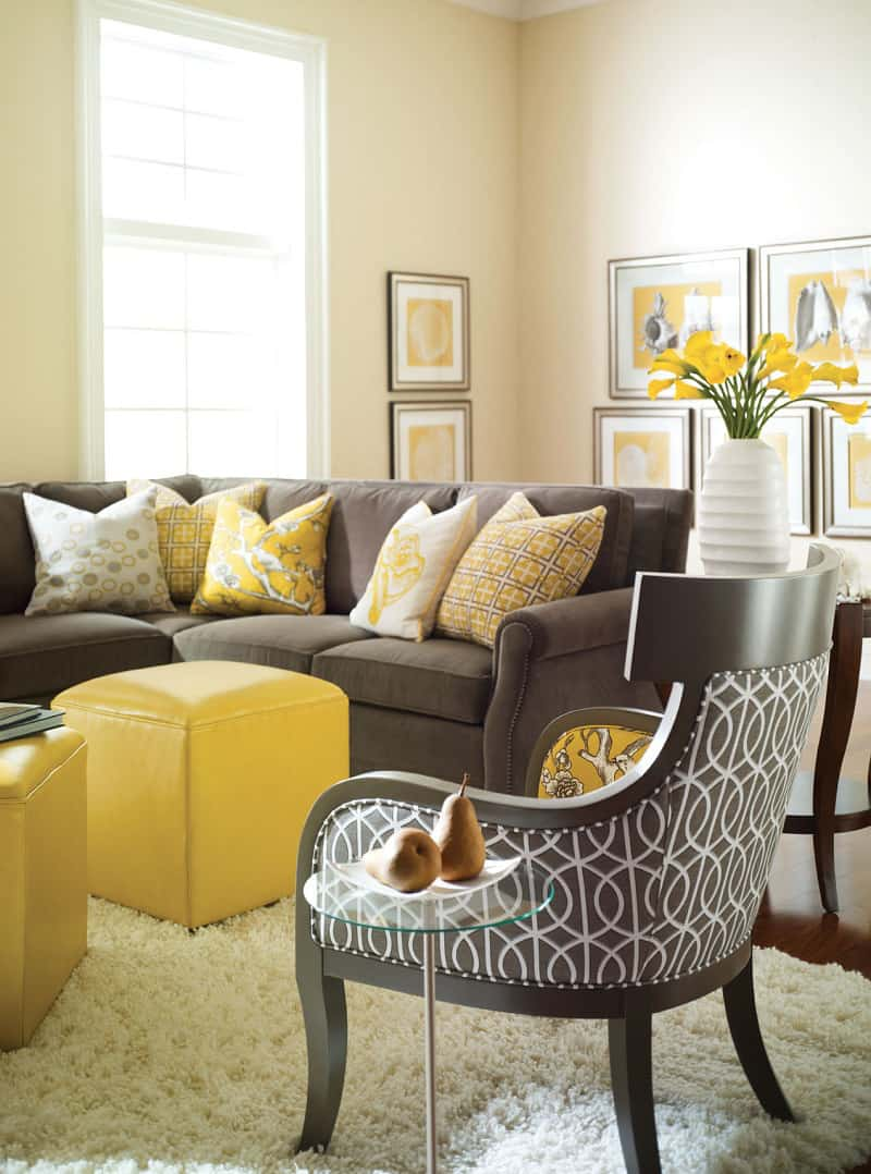Big ideas for small living rooms - Small living room colors ...