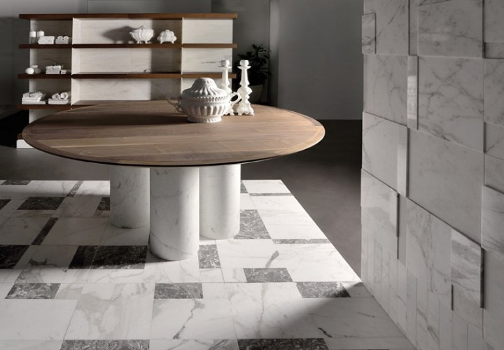 Elegant marble table with timeless design