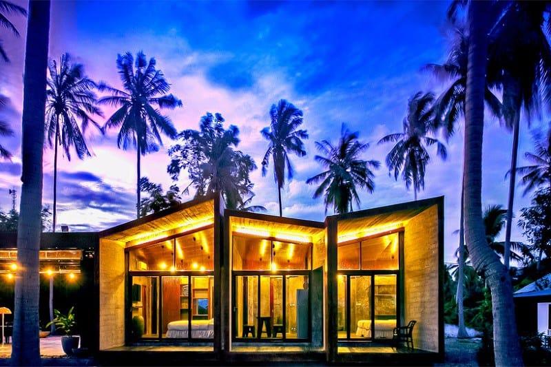 Contemporary villa with an impressive architecture