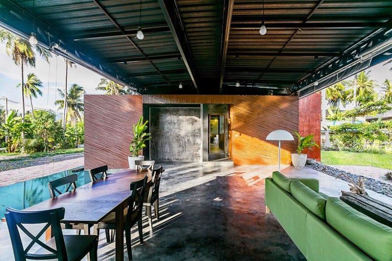 Contemporary villa with an impressive architecture7