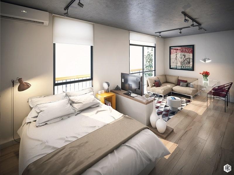 Pleasant Mini Apartment With Practical Design