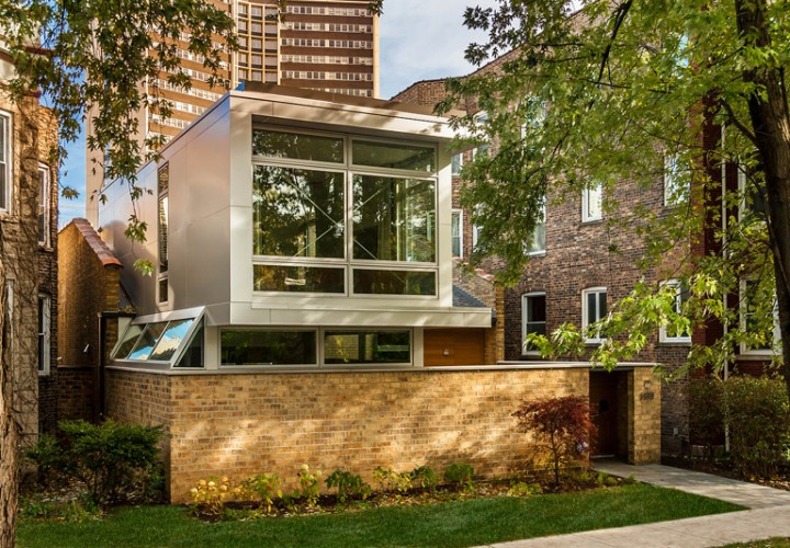 А neglected 1970's era house turned into a masterpiece