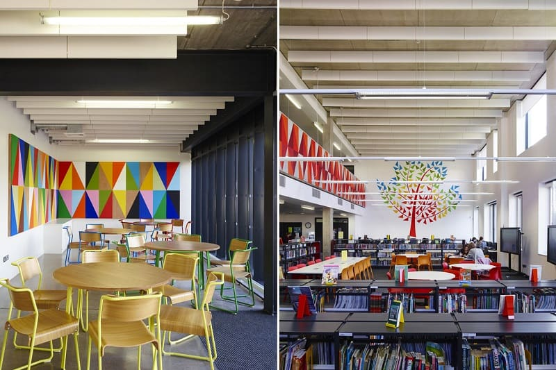Secondary school with contemporary design in London11