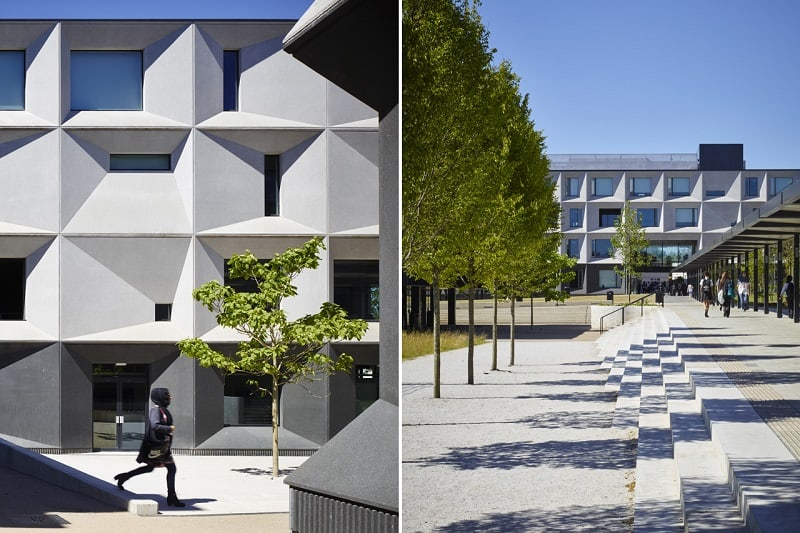 Secondary school with contemporary design in London2