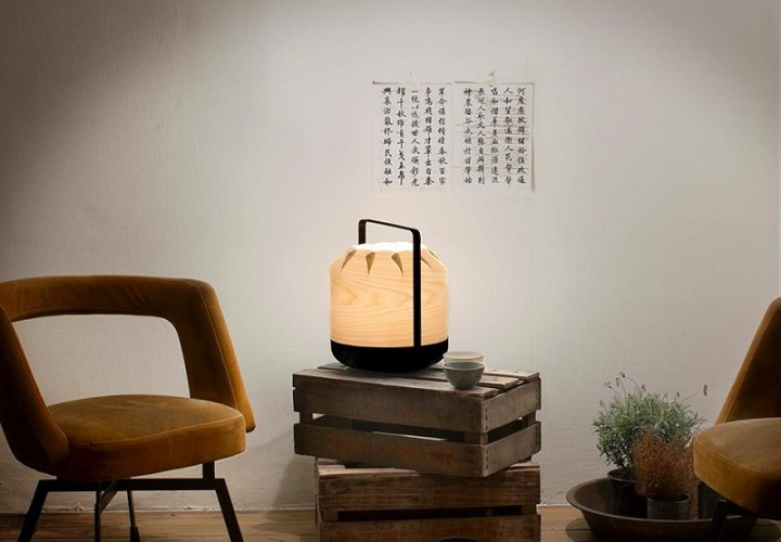 Chou - lamps inspired by the Chinese lanterns