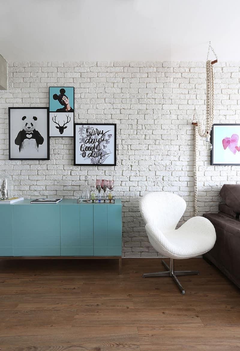Romantic interior with pastel tones in São Paolo1