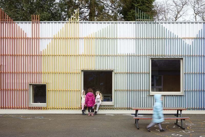 Colorful kindergarten in England1