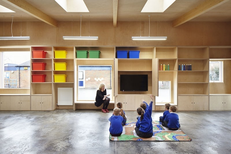 Colorful kindergarten in England5