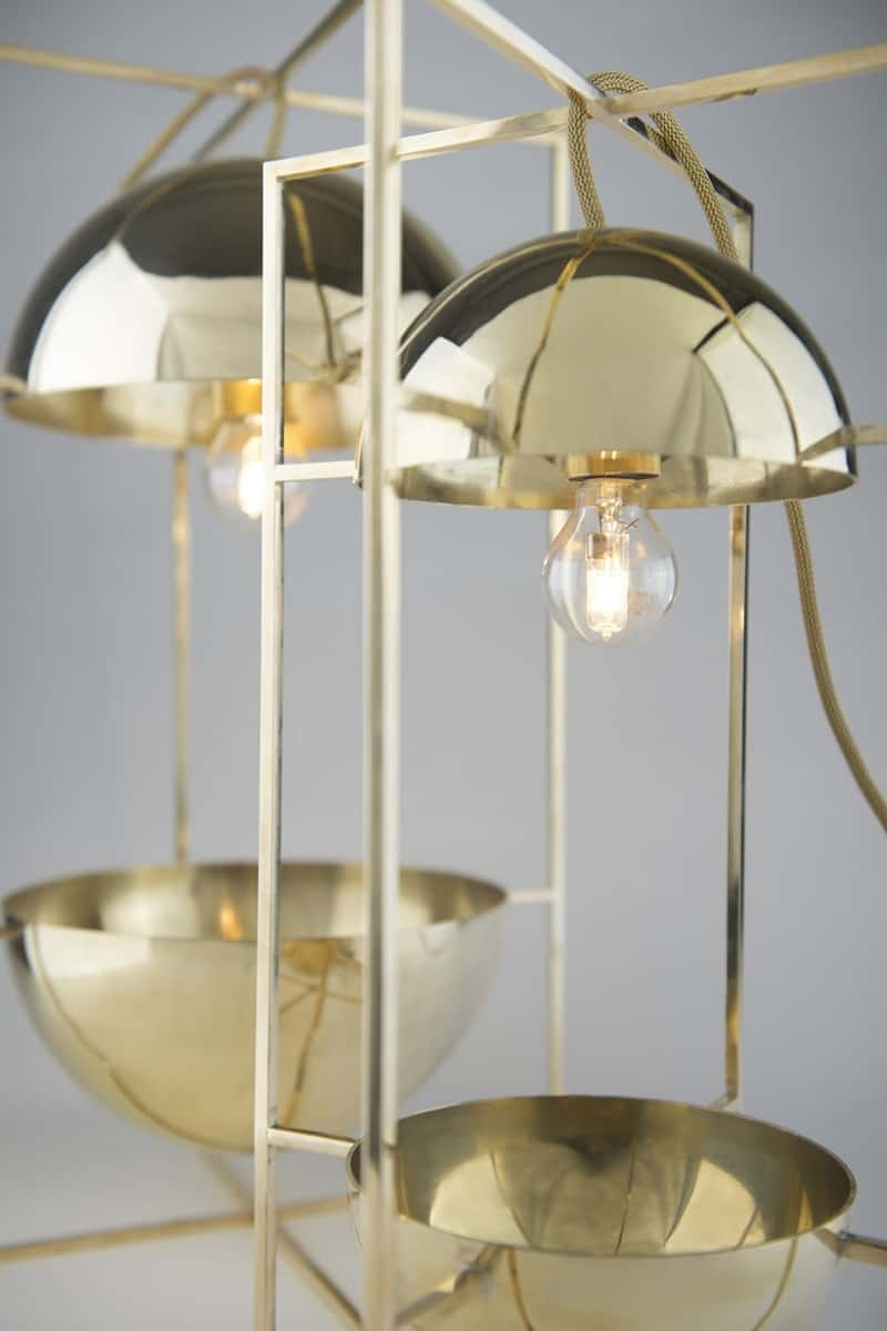 Delicate decorative light and bowl for modern interiors3