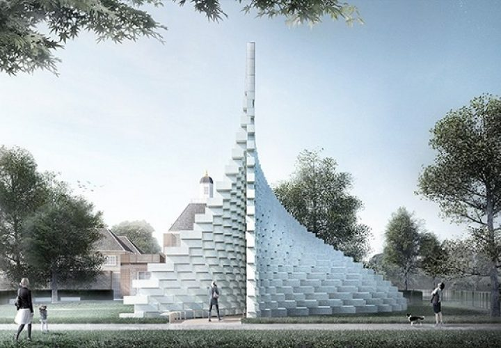 Bjarke Ingels unveiled the Serpentine Gallery Pavilion