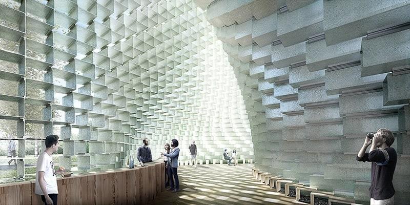 Bjarke Ingels unveiled the Serpentine Gallery Pavilion3