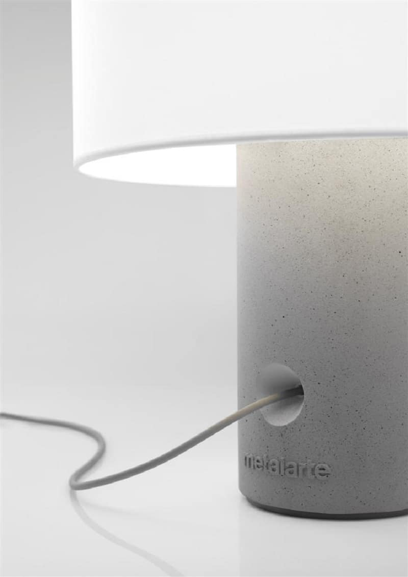 Decorative lamps made of a new composite material2