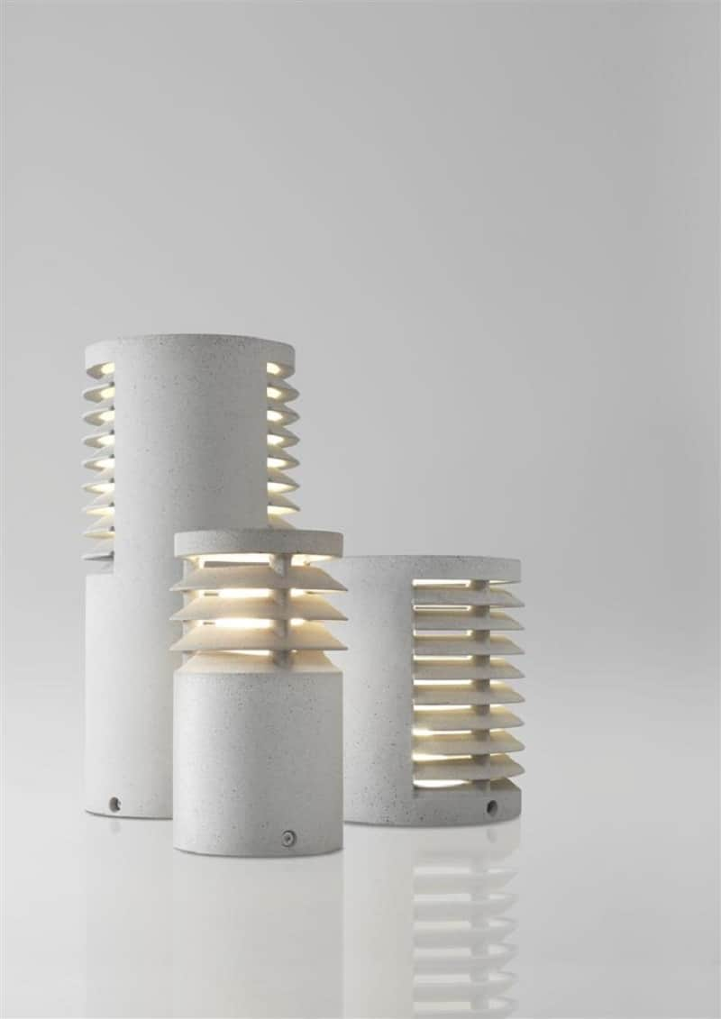 Decorative lamps made of a new composite material6