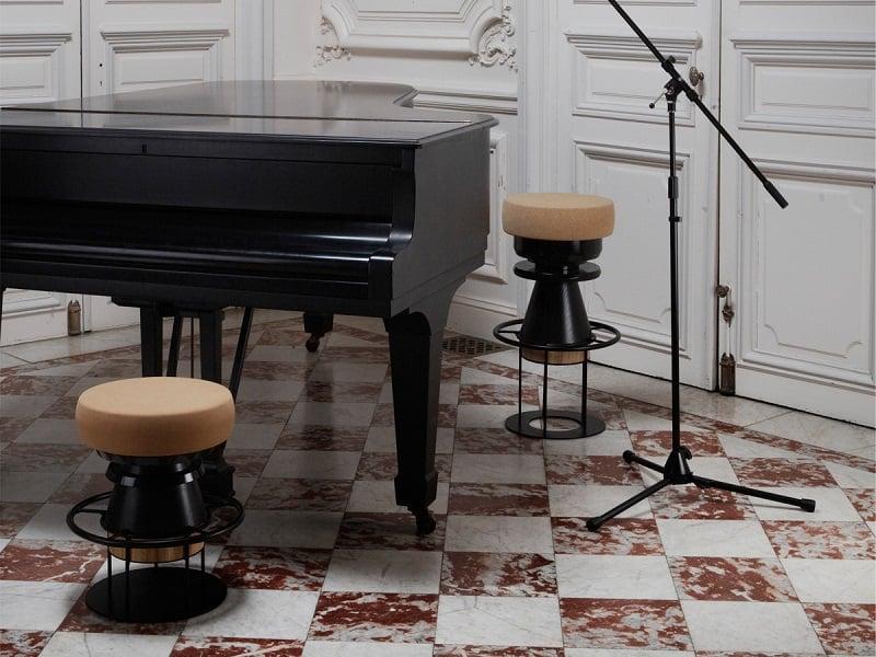 Fun stools with an interesting geometric shape2