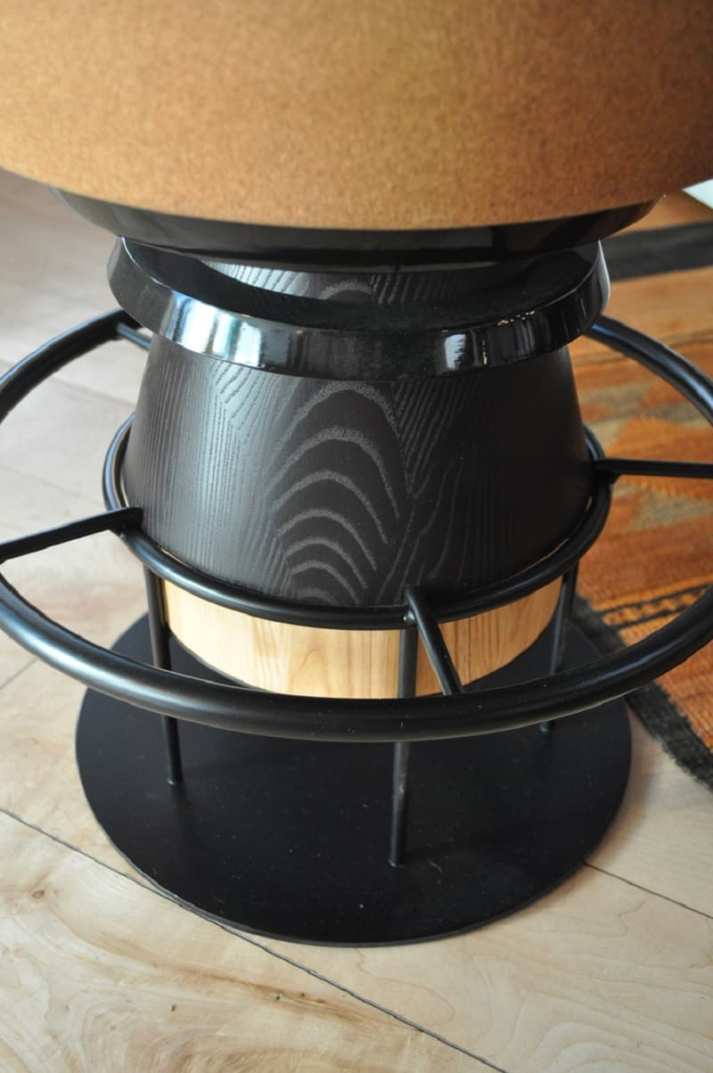 Fun stools with an interesting geometric shape5