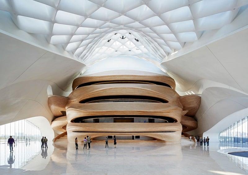 Harbin Opera House - futuristic architectural landmark in China1