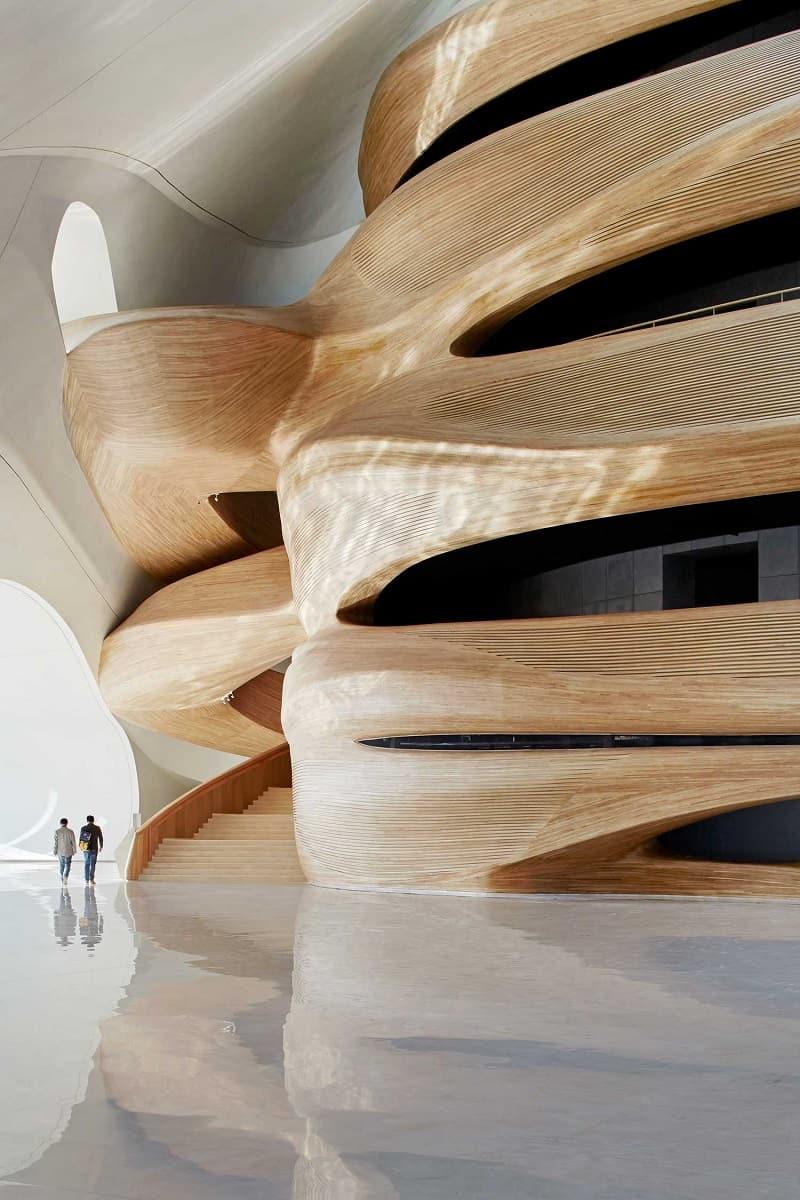 Harbin Opera House - futuristic architectural landmark in China2