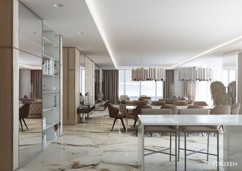 Fancy apartment in Miami1