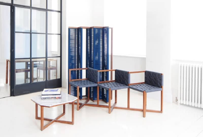Playful furniture inspired by the traditional woven chairs2