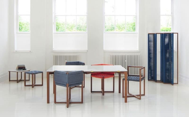 Playful furniture inspired by the traditional woven chairs3