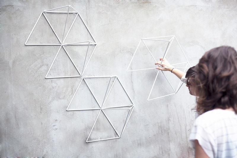 Creative geometric garden modules