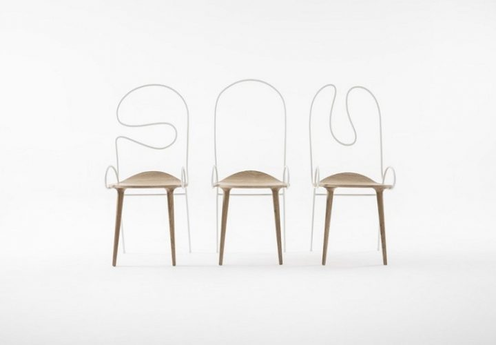 Sylph, elegant and flexible chair