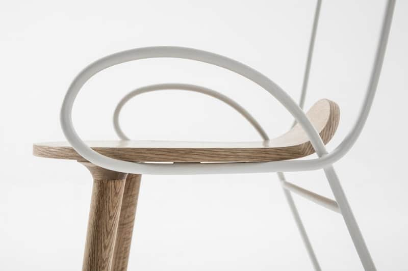 Sylph, elegant and flexible chair2