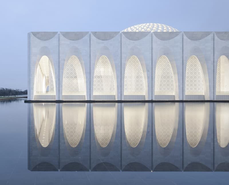 A blend of Islamic and modern architecture of Da Chang Muslim Cultural Center in China