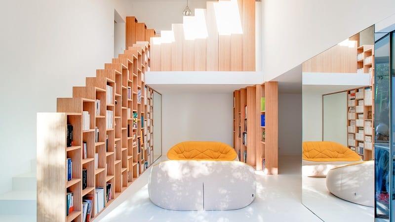 Bookshelf House A Dream Home For Every Book Lover