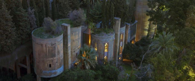 Unusual home and architectural studio in an old cement factory in barcelona - Old cement factory turned home ...